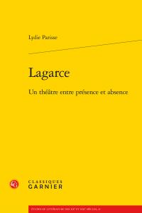 L. Parisse, Lagarce. Un théâtre entre présence et absence