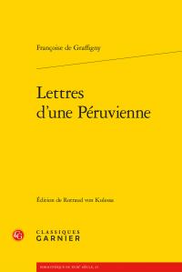 F. de Graffigny, Lettres d'une Péruvienne (1752)