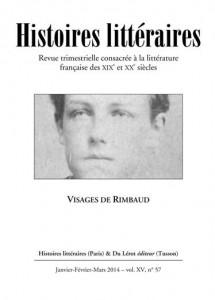 Histoires littéraires, n°57, 2014 :