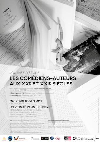 Les comédiens-auteurs aux XXe et XXIe siècles