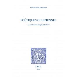 C. Reggiani, Poétiques oulipiennes