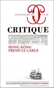 Critique, n°807-808, août-septembre 2014 :
