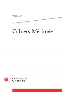 Cahiers Mérimée, n°6, 2014