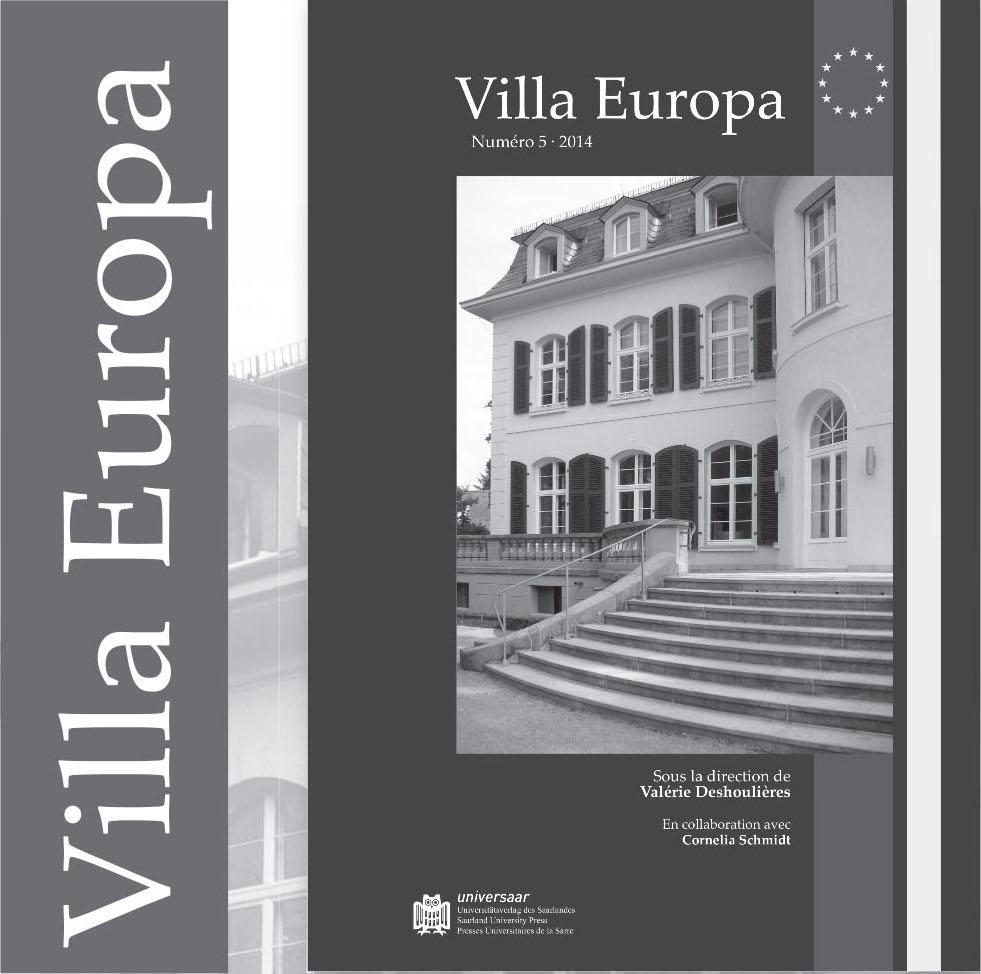 Villa Europa, n°5, 2014