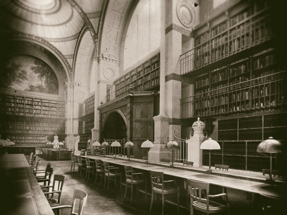 La Bibliothèque des textes fantômes