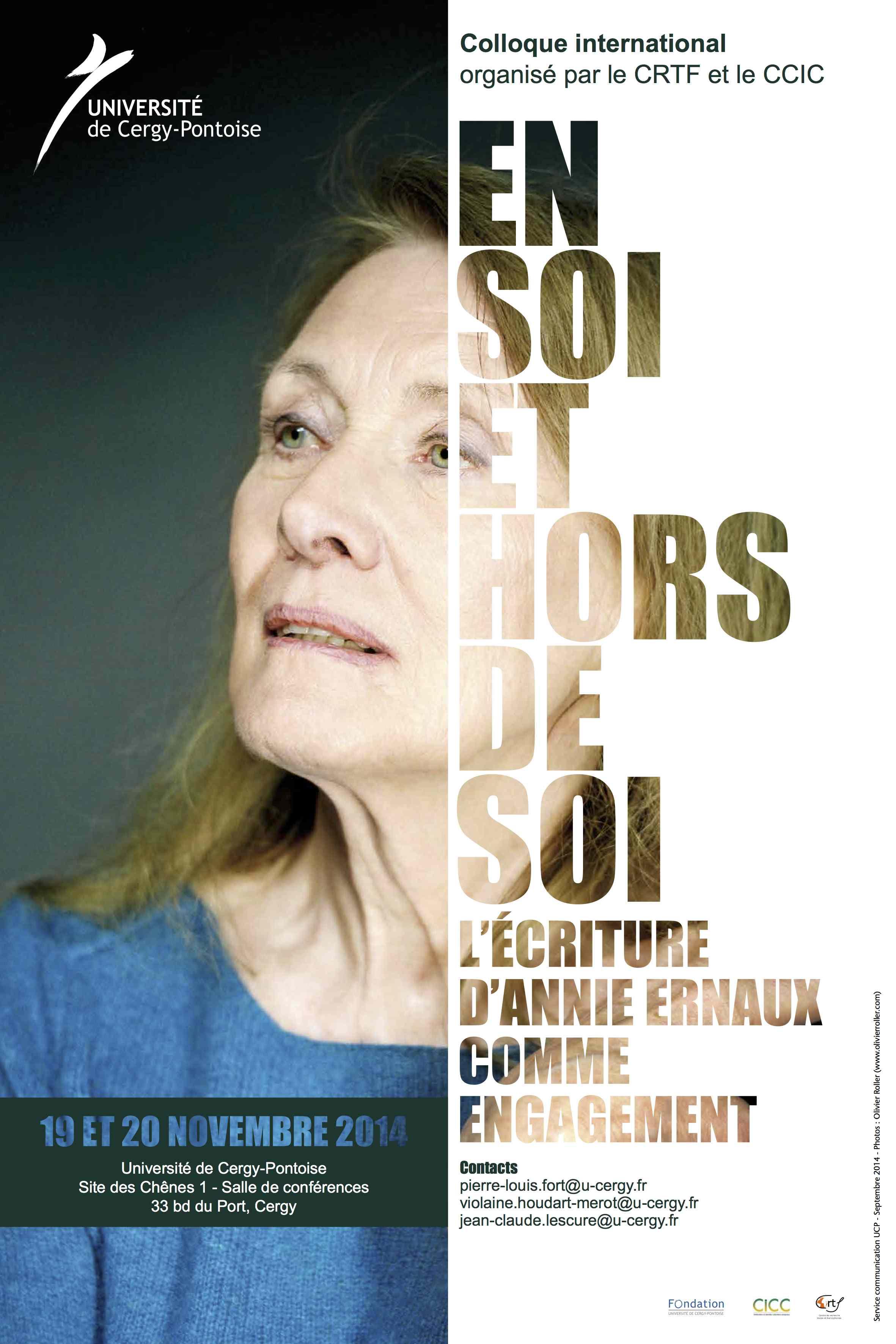 « En soi et hors de soi » : l'écriture d'Annie Ernaux comme engagement