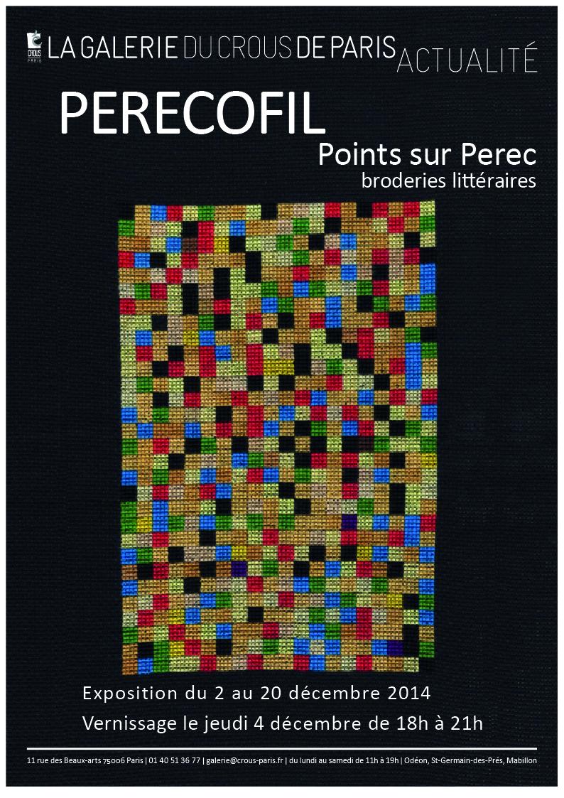 Exposition : Points Sur Perec