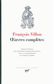 Lire Villon aujourd'hui (Entretiens de la revue Po&sie)