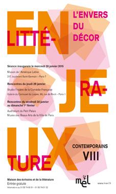 « L'envers du décor », 8e édition du Festival Littérature, enjeux contemporains