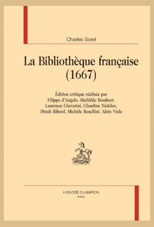 Ch. Sorel, La Bibliothèque française (1667)