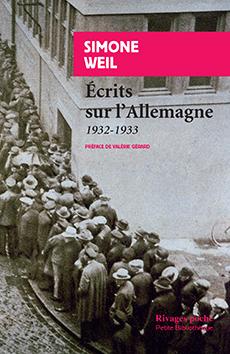 S. Weil, Ecrits sur l'Allemagne - 1932-1933