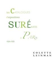 C. Leinman, Les Catalogues d'expositions surréalistes à Paris entre 1924 et 1939