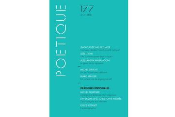 Poétique 177 / 2015-1