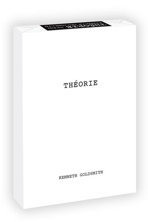 K. Goldsmith, Théorie