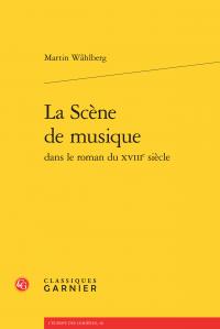 M. Wåhlberg, La Scène de musique dans le roman du XVIIIe siècle