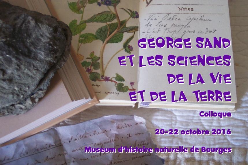 George Sand et les sciences de la Vie et de la Terre (appel)