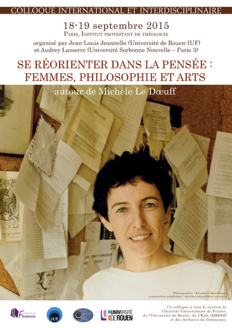 Se réorienter dans la pensée : femmes, philosophie et arts, autour de Michèle Le Dœuff