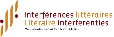 <em>Interférences littéraires/Literaire interferenties</em> n° 16 :
