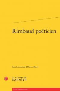 O. Bivort (dir.) Rimbaud poéticien