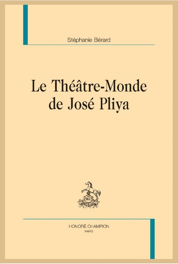 S. Bérard, Le Théâtre-Monde de José Pliya