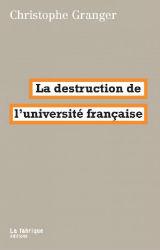 La soumission de l'université française