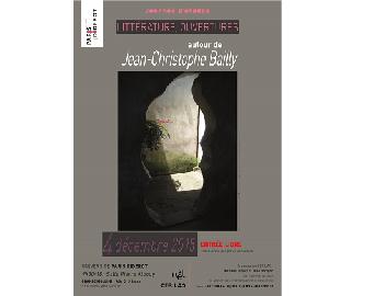 Littérature, ouvertures : autour de Jean-Christophe Bailly (Paris Diderot)