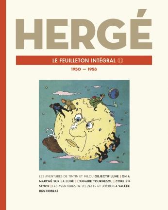 Hergé, Le Feuilleton intégral - 1950-1958