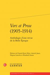 Vers et Prose (1905-1914) - Anthologie d'une revue de la Belle Époque