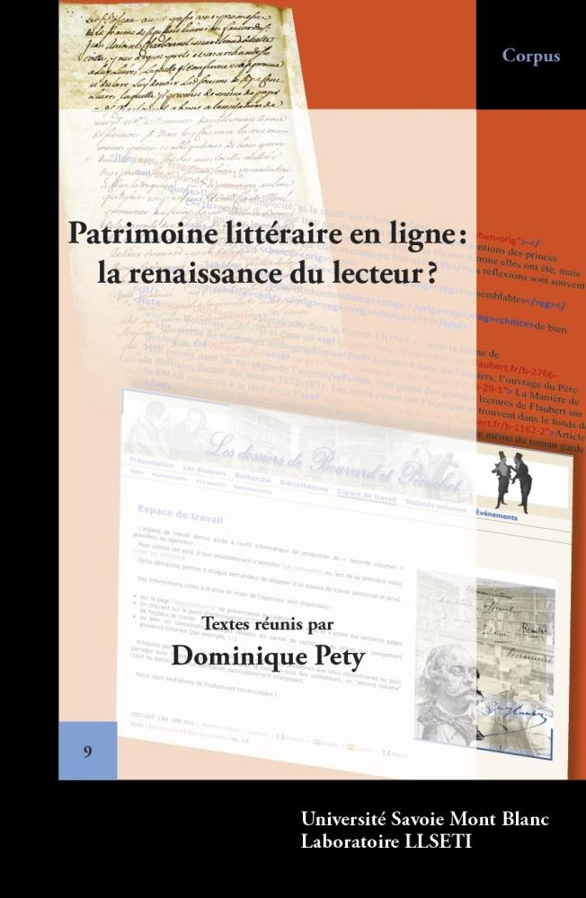 Patrimoine littéraire en ligne: la renaissance du lecteur?