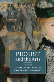 Ch. McDonald & Fr. Proulx (dir.), Proust and the Arts