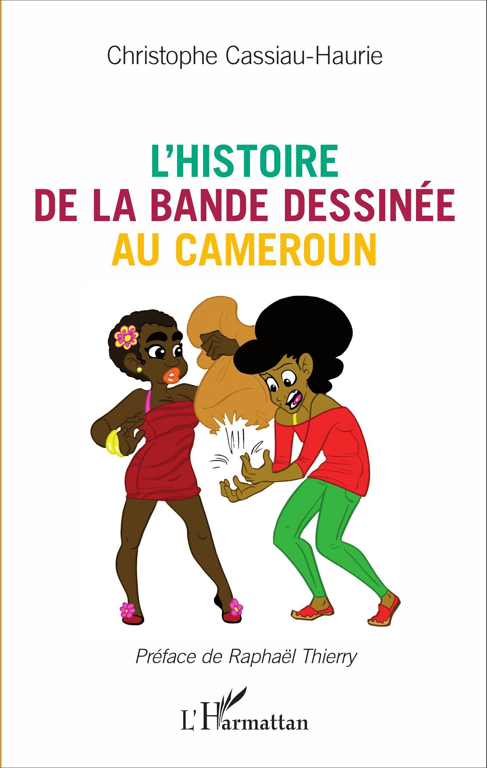 Ch. Cassiau-Haurie, L'Histoire de la bande dessinée au Cameroun