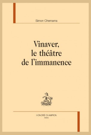 S. Chemama, Vinaver, le théâtre de l'immanence