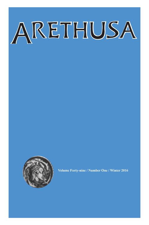 Arethusa, n°49 (2016/1)