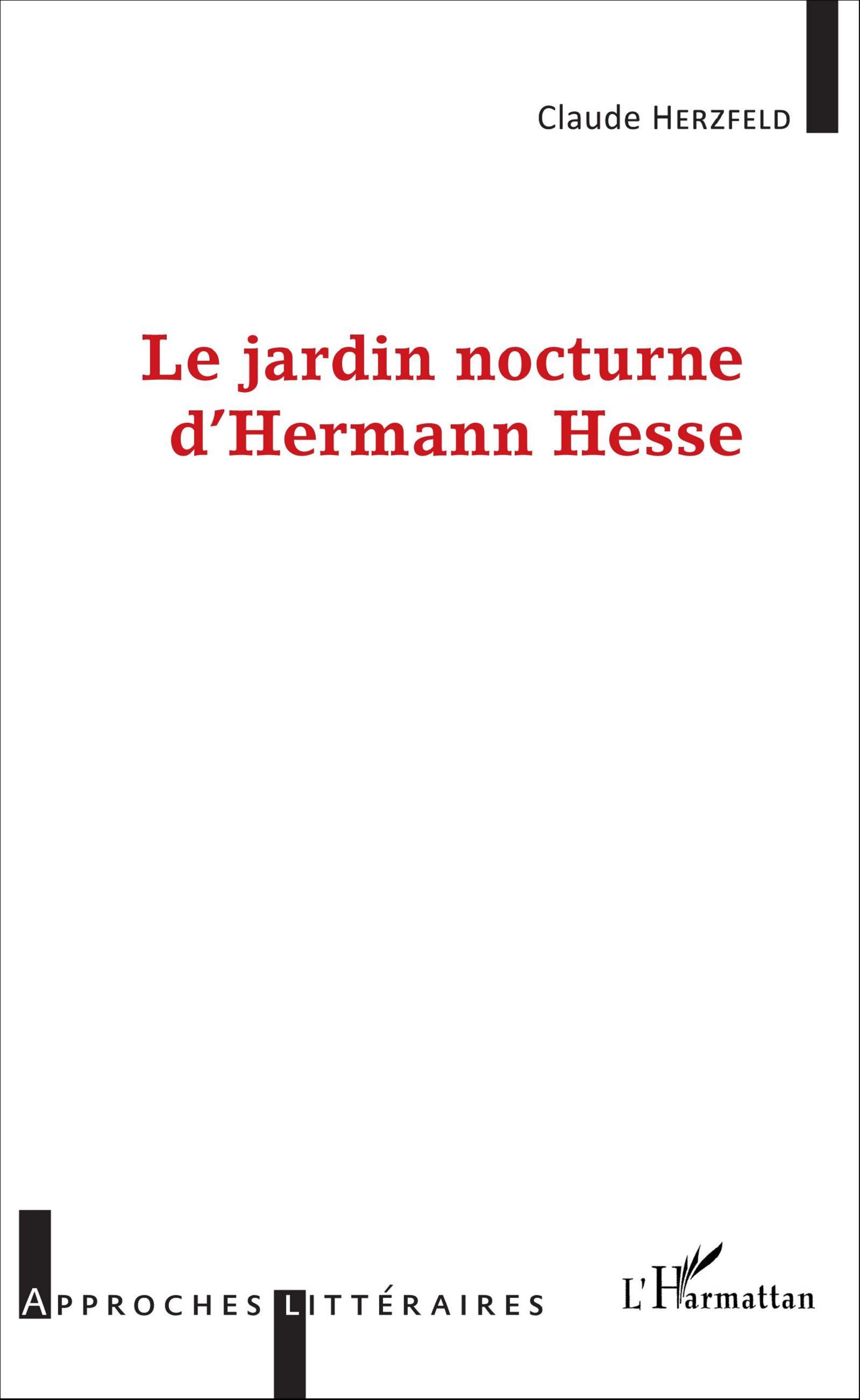 Cl. Herzfeld, Le Jardin nocturne d'Hermann Hesse