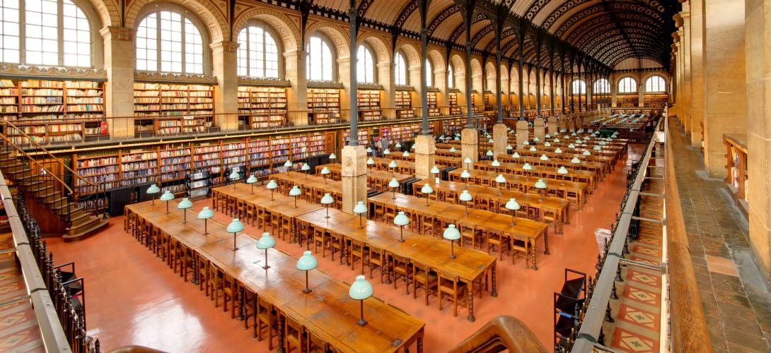«Pourquoi les étudiants ont plus que jamais besoin des bibliothèques» (slate.fr, 3.02.2016)