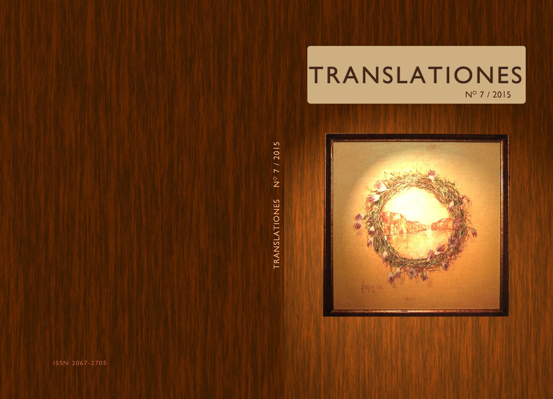 Translationes, n° 7, 2015