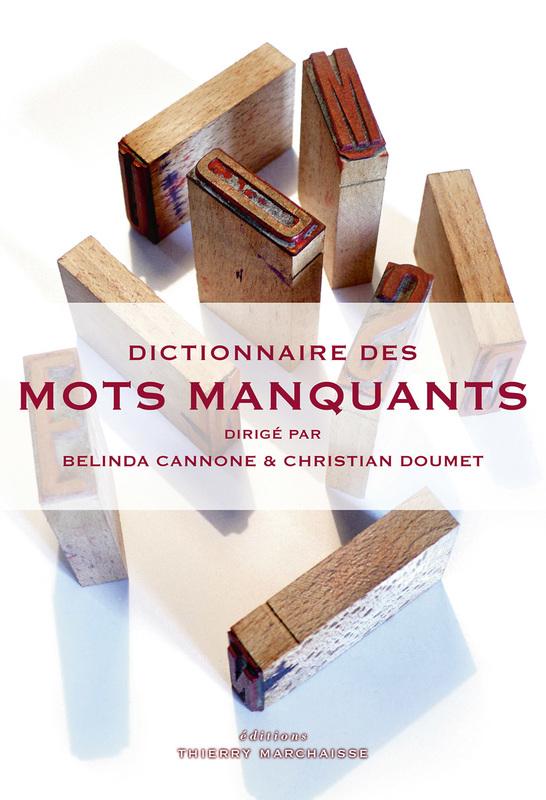 B. Canone & Ch. Doumet, Dictionnaire des mots manquants