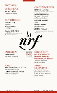 La Nouvelle revue française, n° 616
