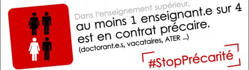 France - Appel à une journée d'action nationale des précaires de l'ESR le 13 avril 2016