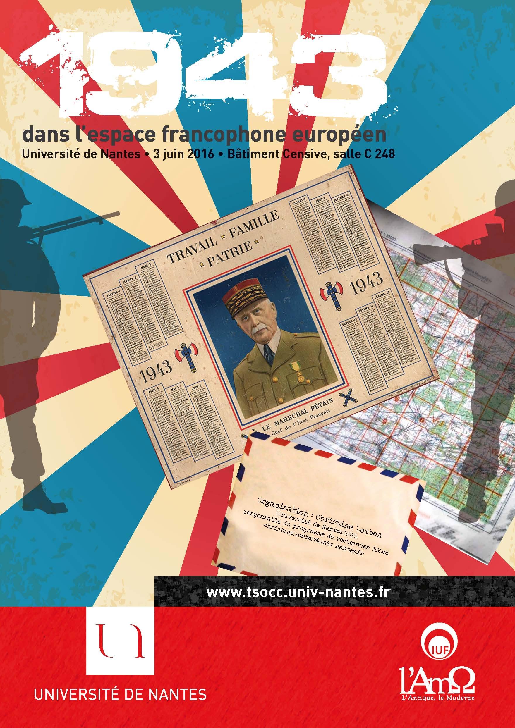 Traductions sous l'Occupation : 1943 dans l'espace francophone européen