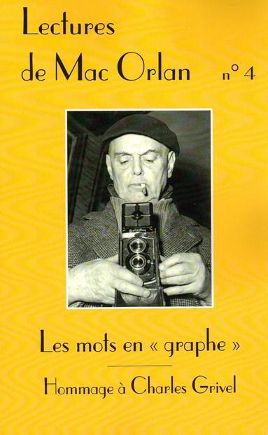 Lectures de Mac Orlan n°4: Les mots en