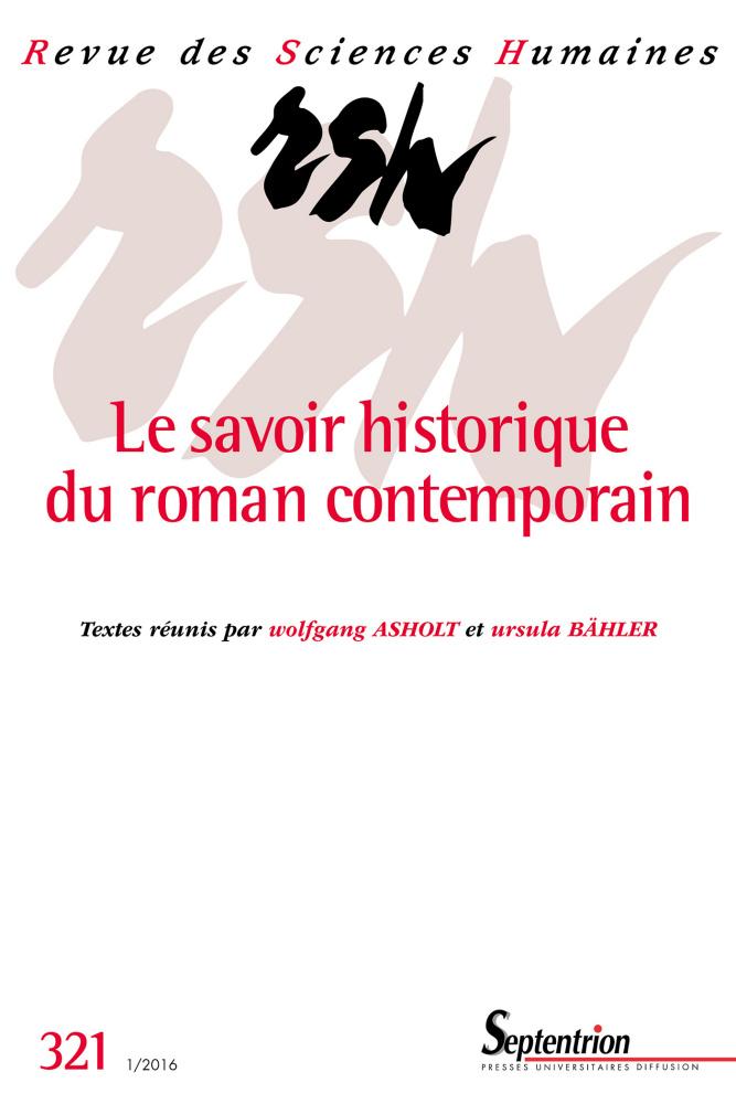 Revue des Sciences Humaines n°321