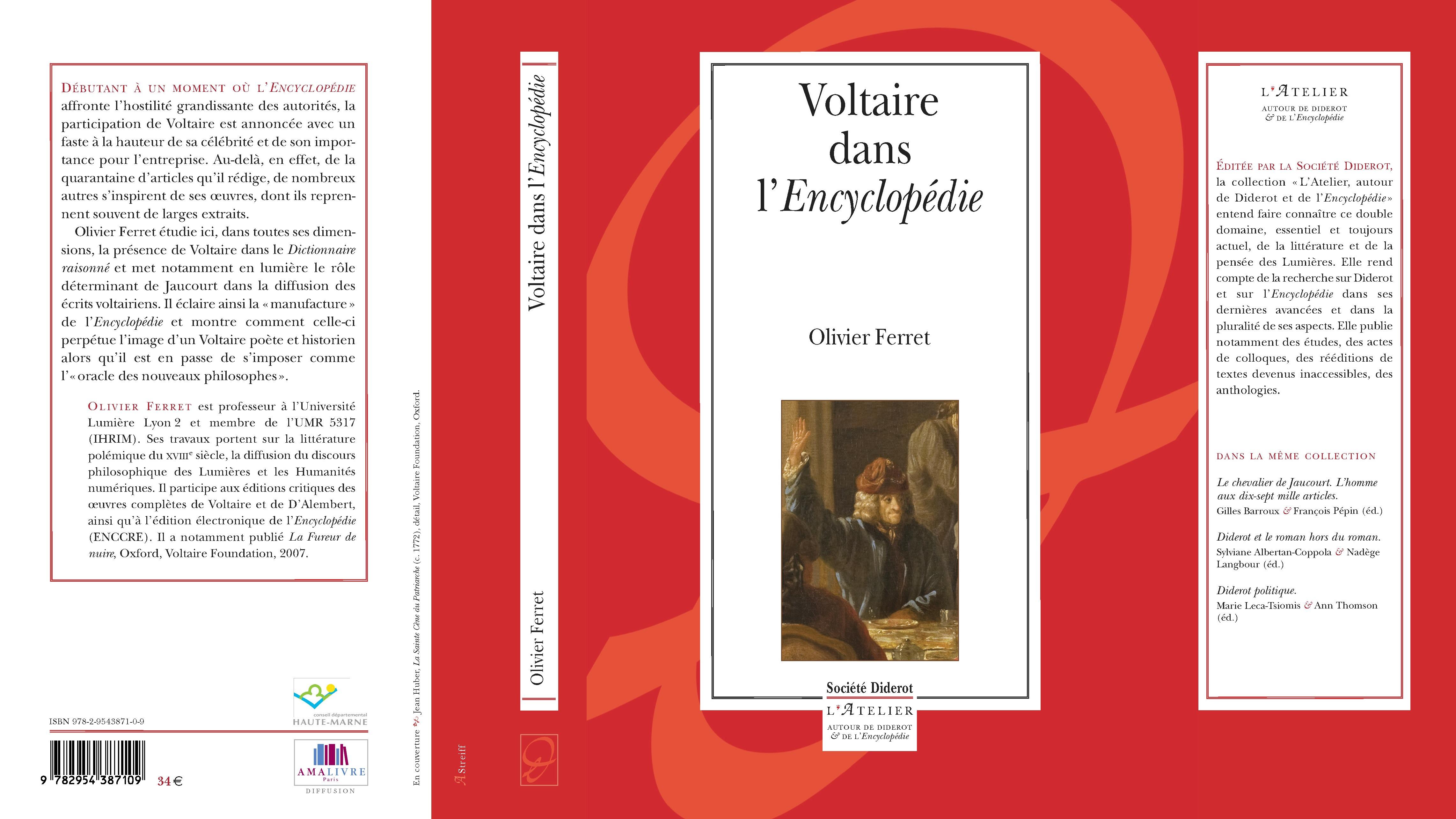 Olivier Ferret, Voltaire dans l'Encyclopédie