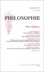 Philosophie, n° 130 : Henri Maldiney