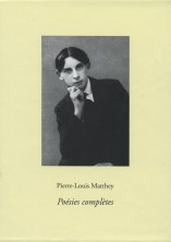 P.-L. Matthey, Poésies complètes (5 vol.)
