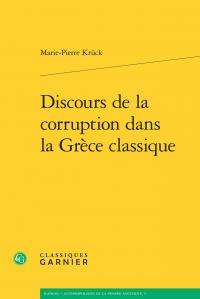 M.-P. Krück, Discours de la corruption dans la Grèce classique