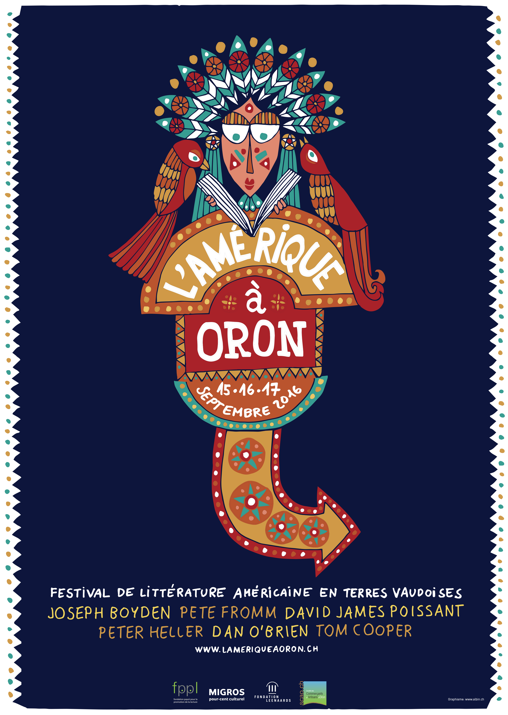 L'Amérique à Oron (Festival de littérature américaine en Suisse)