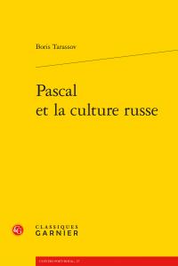 B. Tarassov, Pascal et la culture russe