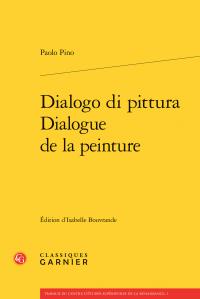 P. Pino, Dialogo di pittura / Dialogue de la peinture
