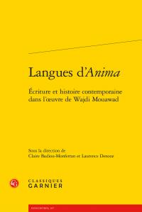 Langues d'Anima -